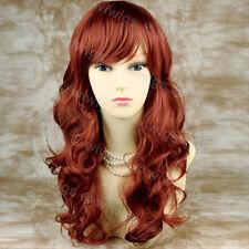 Lungo ondulato mozzafiato Rosso Volpe Pelle Top Donna Parrucca Da Wiwigs UK