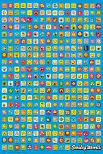Smiley Poster Emoji Maxi Wall Art Decor Bedroom Retro 61 x 91.5cm 352