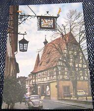 Germany Michelstadt im Odenwald Gasthof - posted 1968