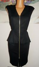 Ted Baker Women's Elegant Formal Special Occasion Black Dress Size 10 uk