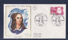 enveloppe 1er jour   hommage aux femmes  Flora Tristan  Paris   1984