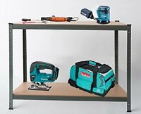Heavy Duty Steel Workbench Worktable Shelving Racking for Garage Shed Warehouse
