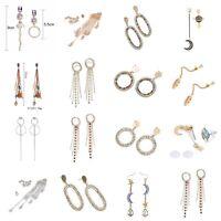 2018 Women Bohemian Earrings Vintage Long Tassel Fringe Boho Dangle PARTY JEWEL