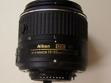Nikon AF-S DX NIKKOR 18-55mm 18-55 mm f/3.5-5.6G VR II CAMERA LENS, BARELY USED