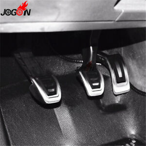 Car Gas Brake Clutch Footrest Pedal MT For VW Volkswagen JETTA MK7 2018 2019 LHD