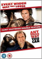 EVERY WHICH WAY BUT LOOSE ANY WHICH WAY YOU CAN EASTWOOD 2 DVD BRAND NEW R2