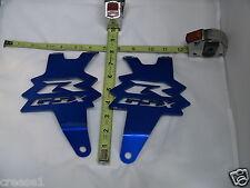 Suzuki GSX-R GSXR 1000 BLUE Exhaust Hangers 2007 2008 2009 2010 2011