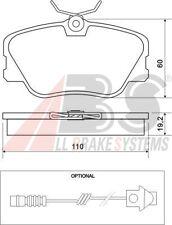 Plaquettes de frein avant 300001 =  DF1583 pour Mercedes W124 250D 250TD