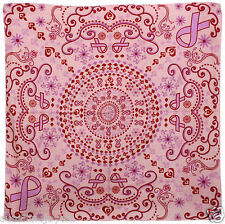 Pink Ribbon Breast Cancer Awareness Bandana - 20% Donation to Fight Cancer