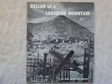 1957 Ballad Of A Laughing Mountain Booklet