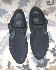 Vintage 90's Aerosoles Size 9 What's What Black Leather Shoes Flats Soft Suede