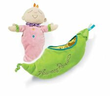 Snuggle Pods Sweet Pea Plush Baby Toy Manhattan Toy NEW