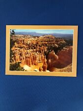 Sunset Point Bryce Canyon National Park, Utah..Vintage Postcard