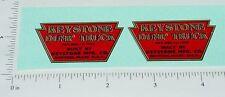 Keystone Pre-War Dump Truck Sticker Set          KY-016