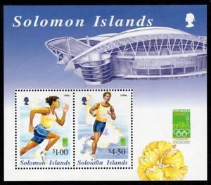 SOLOMON MNH 2000 MS975 Olympic Games - Sydney, Australia