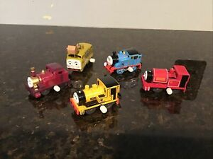 Thomas & Friends MINI WIND UP TRAIN LOT,LADY DIESEL 10,Duncan And Others