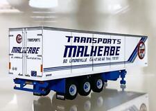 "classic reefer trailer 3 axle ""Malherbe""WSI truck models"