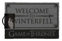 Game Of Thrones ( plier le genou ) Tapis de porte 100% Coco revers en caoutchouc