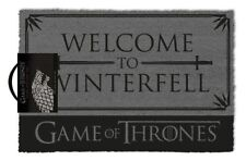 Game Of Thrones (Welcome to Winterfell) Doormat 100% Coir Rubber Back GP85202
