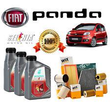 KIT TAGLIANDO FIAT PANDA 1.2 312 69 CV 3 LT OLIO SELENIA 5W40 + 3 FILTRI WIX