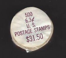 US SCOTT# 1518, COIL ROLL OF 500 IN POSTAL PACKAGE