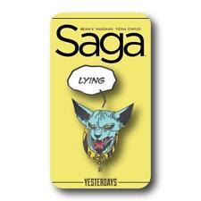 SAGA - Lying Cat Pin