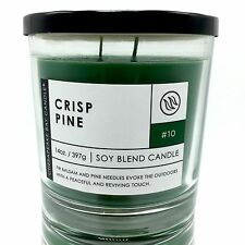 Chesapeake Bay Crisp Pine Soy Blend Fir Balsam and Pine Needles Scented Candle