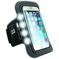 iWerkz Universal Flash Band Flashing Sports Armband - Retail Packaging - Black