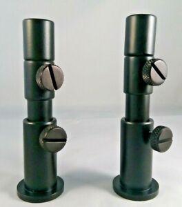 MOD BLACK 13mm & 16mm CARP FISHING ADJUSTABLE STAGE STANDS & ADJUSTABLE INSERTS
