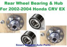 Rear Wheel Bearing & Hub Assemby For 2002-2004 Honda CRV EX 4WD With ABS-LT & RT