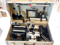 "Sinar P 4x5"" + CASE + Accessories -Viewer Extensions Bellows F Standard Chassis"