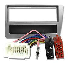 Radioblende Set für HONDA CIVIC Adapter Kabel Blende Rahne Autoradio anthrazit