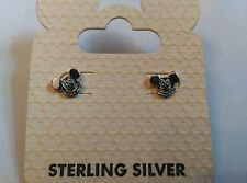 Disney Parks Mickey Mouse Head Earrings Made in 925 Sterling silver