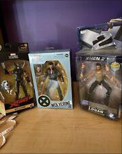 Marvel Legends Wolverine From Hasbro & Toy Biz Logan 3 Figures