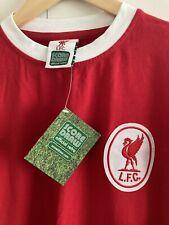 Score Draw Retro Liverpool FC Shirt, Size Large, Lfc