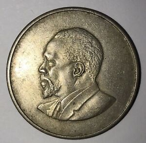 Kenya 1966 2 SHILLINGS Coin Mzeejomo Kenyatta - Africa