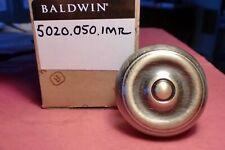 Baldwin 5020.050.MR (1 door knob satin brass and black). New