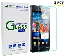 ACENIX Samsung Galaxy S2 i9100 Tempered Glass Clear LCD Screen Protector