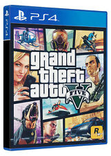 Grand Theft Auto V GTA 5 PS4 Physical Game Disc - NEW & SEALED
