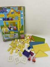 Peppa Pig Deluxe - Peppa's House Construction Set Duplo Compatible