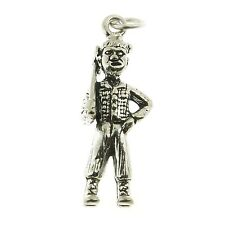 925 Sterling Silver Lumber Jack Charm Made in USA