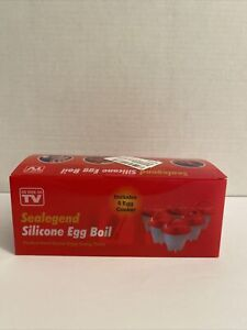 As Seen On Tv SEALEGEND SILICON EGG BOIL *NEW*
