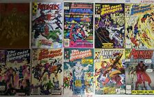 West Coast Avengers CLASSIC comic lot+Foil & Lenticular {Scarlet Witch /Vision}