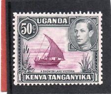 K.U.T. GV1 1938-54 50c purple & black sg 144 HH.Mint
