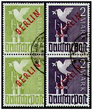 Berlin Nr. 33+34 gestempelt als Paare geprüft Schlegel