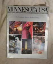 Minnesota USA 1986-87 Sports Art Tourism Volume 1