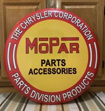 Mopar Parts Accessories Sign Car Truck Parts Tools Vintage Style Garage Chrysler