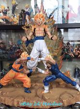 Dragon Ball Z Goku & Vegeta Gogeta De Modelo De Resina Estatua GK Coleccionable no MRC