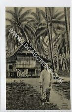 More details for (gy716-460) malay dwelling house, singapore c1910 ex e.p.hock card #50