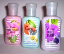 BATH & BODY WORKS HONEYSUCKLE AMORE DOLCE BERRY SEASIDE CITRUS MINI BODY LOTIONS